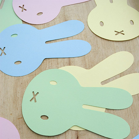Add colourful Easter fun to your celebrations with this easy bunny garland. The kids will hop with delight!