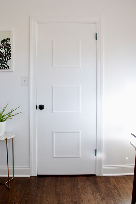 A stunning makeover for boring doors
