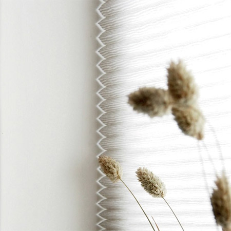 Honeycomb blinds offer an energy efficient way to warm up a home