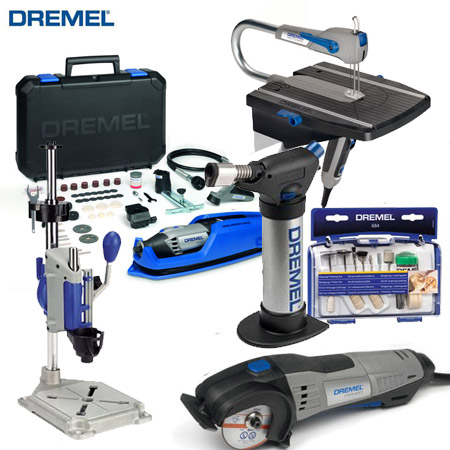 If you're looking to invest in a Dremel MultiTool, DSM20, or other Dremel tool, or if you need to purchase Dremel accessories or attachments, take advantage of the special offer on Dremel tools for the remainder of this week.