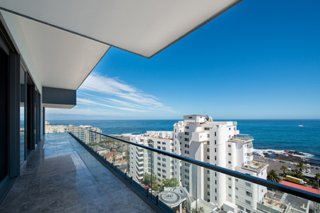 Fairmont Penthouse - With its expansive views of the Atlantic seaboard, the interior of this Fairmont penthouse was oriented to offer dramatic sea views and stunning sunset vistas from every angle.