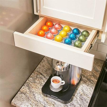 Home Dzine Kitchen Handy Under Cupboard Storage Drawer