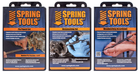 Spring Tools range of nail sets and punches can be used in all industries