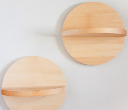 Quick Project: Easy Circular Shelves