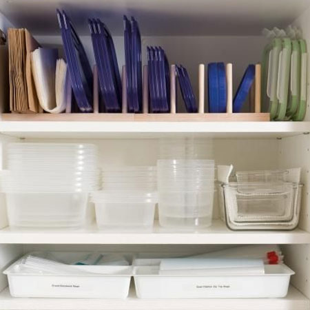 Organise your Tupperware cupboard