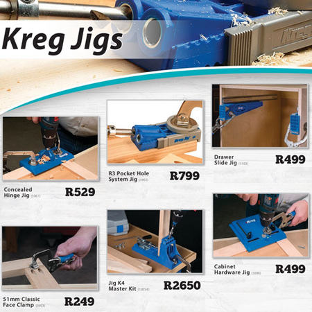 gelmar specials on Kreg products