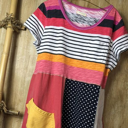 use old t-shirts to make new clothes
