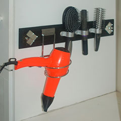 hair drying station