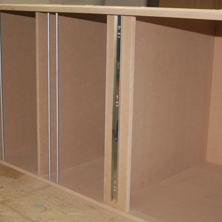 assemble shelf unit
