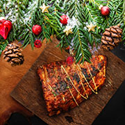 Festive fare on the grill