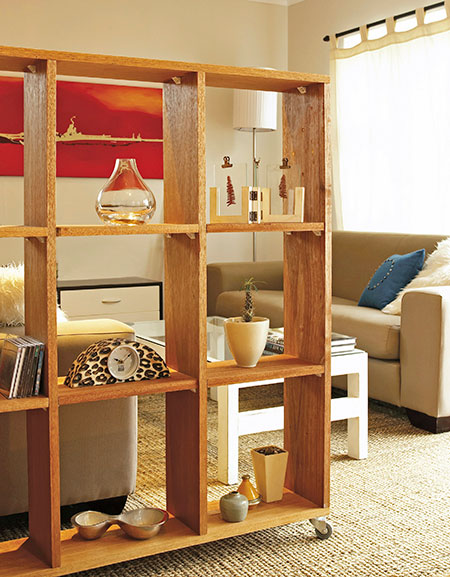 shelf unit or room divider