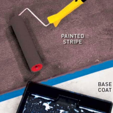 how to paint concrete pool surround