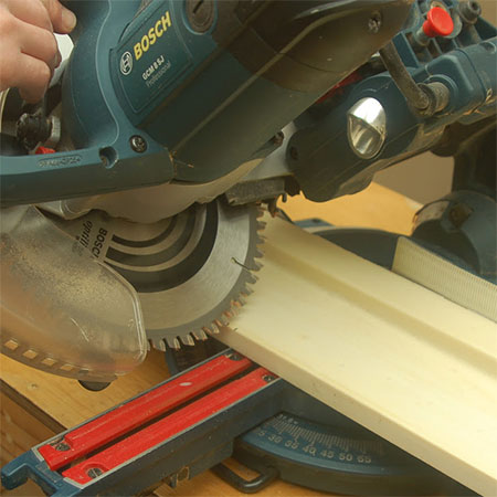 cutting over skirting