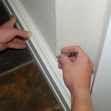 mark and measure for over skirting