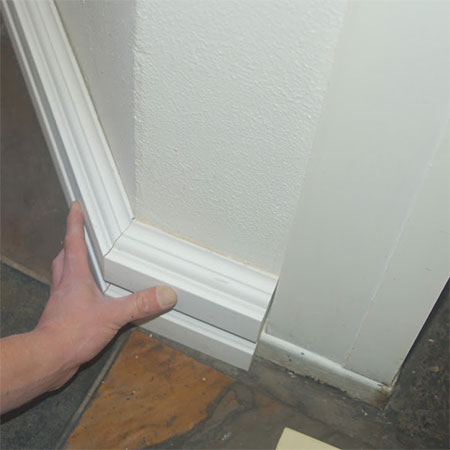 installing over skirting