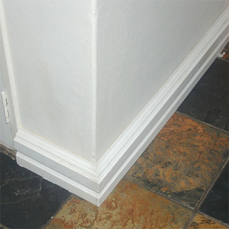 how to install over skirting
