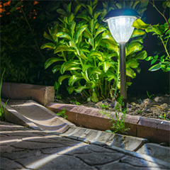 solar power lights