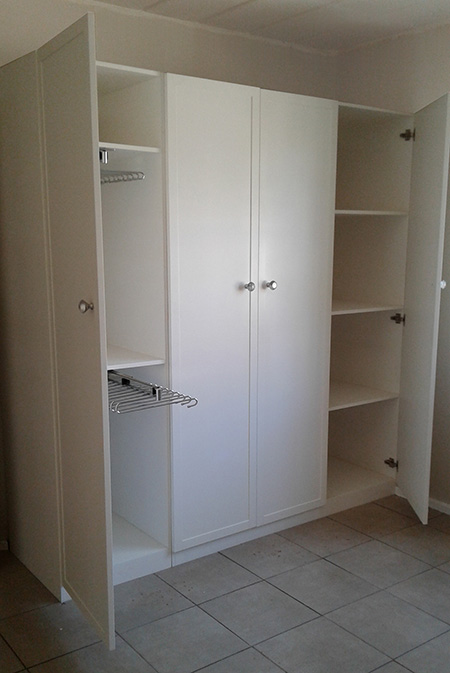 diy built in cupboard closet for clothes