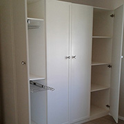 build and install built in cupboards