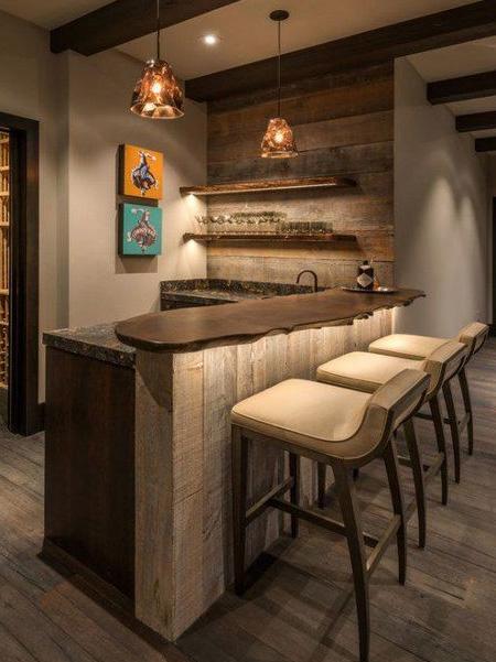 Home Dzine Home Decor Add A Bar To Your Home