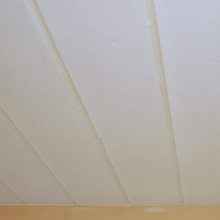 Home Dzine Paint Your Ceiling With Fired Earth Ceiling Paint