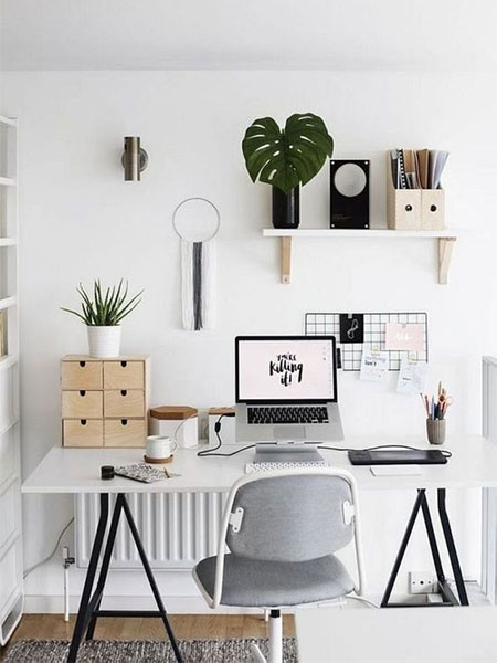 HOME DZINE Home Office | 5 Home Office Desks you can Make