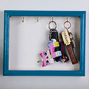 easy wall mounted key holder