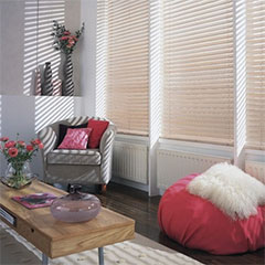 finishing touches venetian blinds on promotion