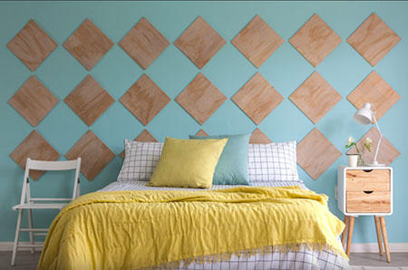 wall art for bedroom headboard
