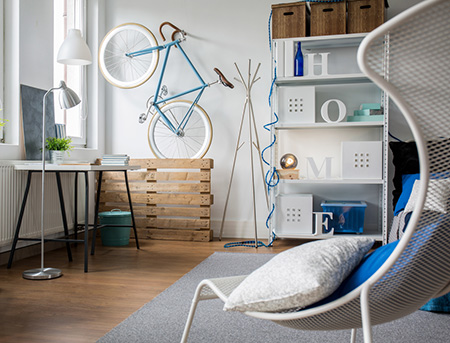 Home Dzine Home Decor Creating Bicycle Themed Home Decorations