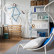 decor with bicycle