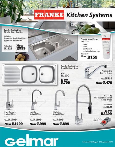 Gelmar Kitchen Sinks