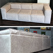 make a contemporary sofa