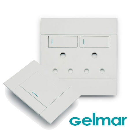 gelmar light and power outlet cover plates