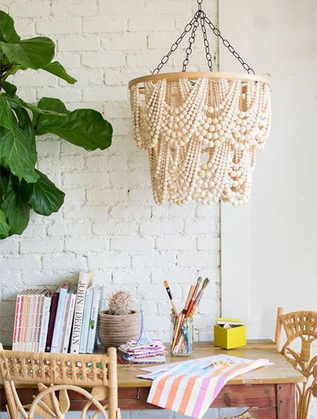 diy boho lighting ideas