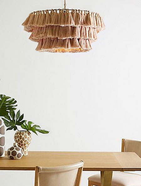 boho lighting ideas