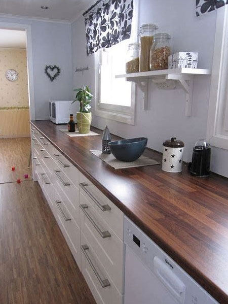 Make Your Own Wood Kitchen Countertops