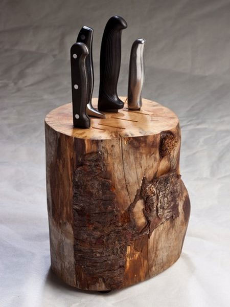 Home Dzine Kitchen Diy Knife Blocks For Storing Your