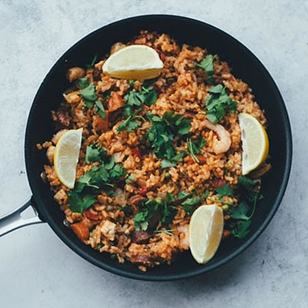 Paella with a twist