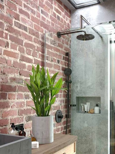 potted plants for the bathroom
