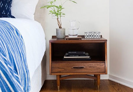 set up the perfect bedside table