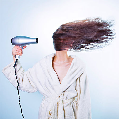 The number one cause of a blocked shower drain is hair... long hair - so brush before you shower!