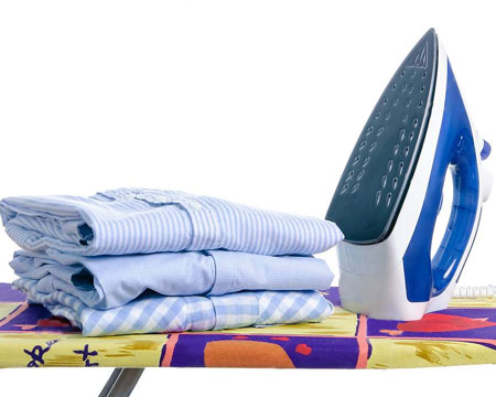 less ironing when you use a tumble dryer