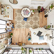 living in style in a small space