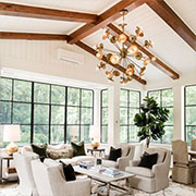 Exposed Beams add Architectural Detail