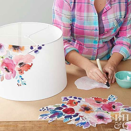Where can you use Decoupage?