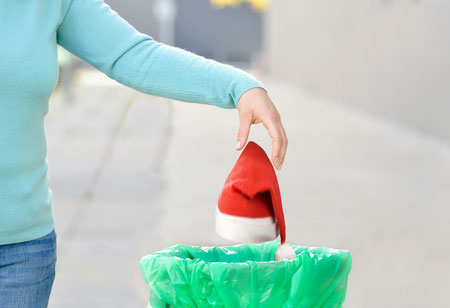 recycle christmas waste properly
