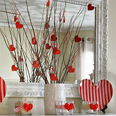 valentine decor ideas
