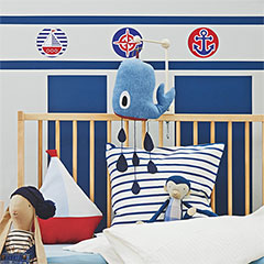 Sailor inspired bedroom