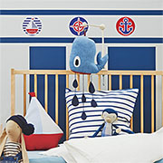 sailor inspired nursery